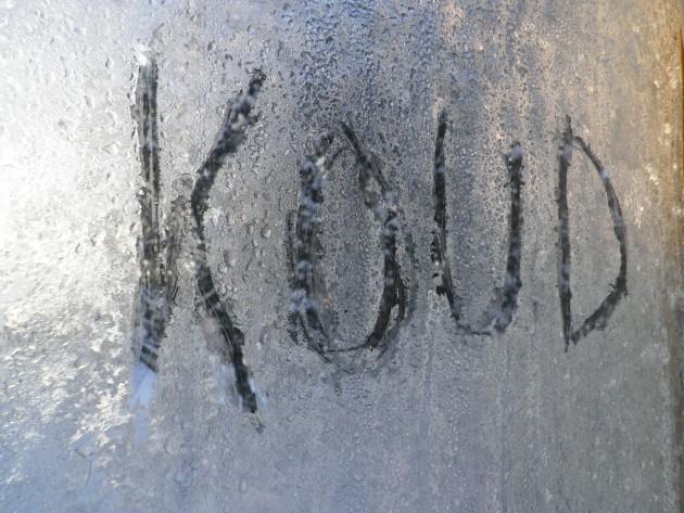 Schrijven in ijs