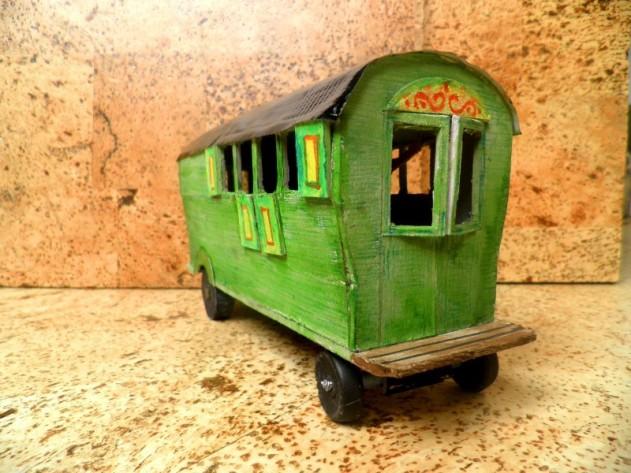 Wiekie's pipowagen