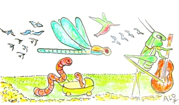 Révolution des colibris, revolución de los colibries