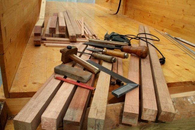 bouwen materiaal kozijn maken 005