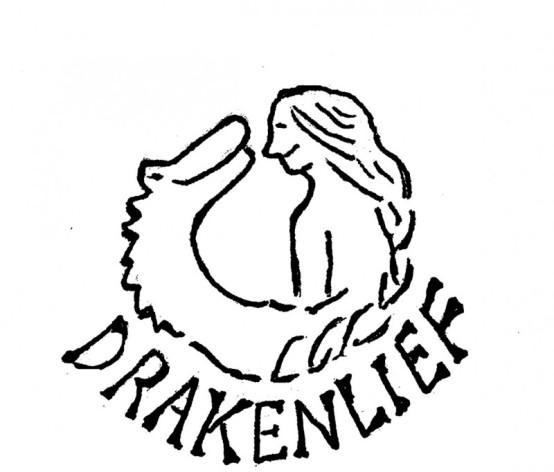 Agremone Drakenlief boek Hoofdstukembleem