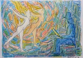 26-04-16 Boeken vervagen waar tijd zich vult met zijn