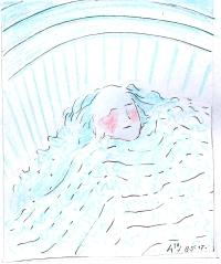 08-05-17 Een bed in een huis als een buik