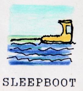 Varen naast een Sleepboot