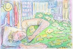 Uitslapen en rokjes aan