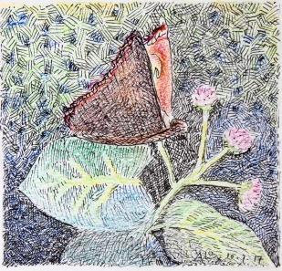 Vlinder (bij gedicht)