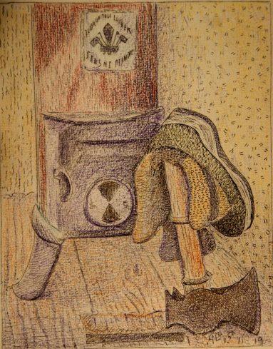 Natte schoenen en een warme kachel 11-11-19